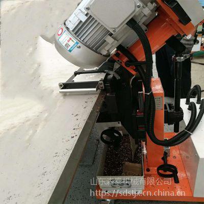 森泰自走式钢板倒角机 全自动平板坡口机 加厚钢板铣边机厂家