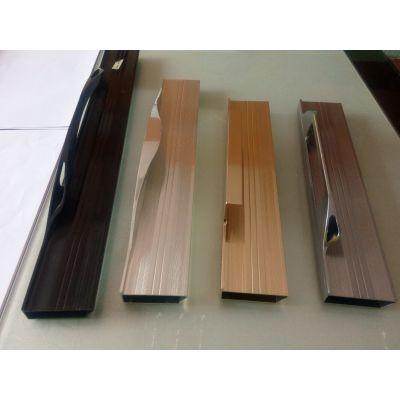 英之镁铝材铝材专业承接门窗 拉手封边LED灯箱等铝材加工