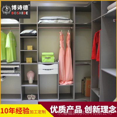 长期供应 全实木衣柜 烤漆实木衣柜 组装整体衣柜定制 量大从优