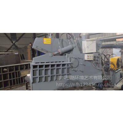 鳄鱼废钢剪切机怎样 300吨鳄鱼剪切机视频山东思路定做切断机输送带