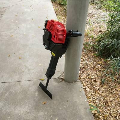 农用便携式汽油挖树机 汽油树坑机 植树打坑机