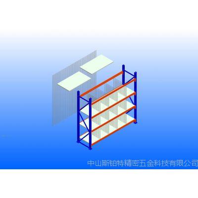中型双柱层钢层板隔钢丝网