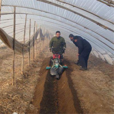山东种土豆地瓜培土机-手扶柴油风冷田园管理机-小型耕地开沟起垄机厂家直销