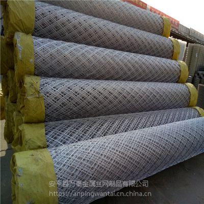 100刀护坡钢板网 工地灌浆用菱形网 建筑钢板网哪里有卖