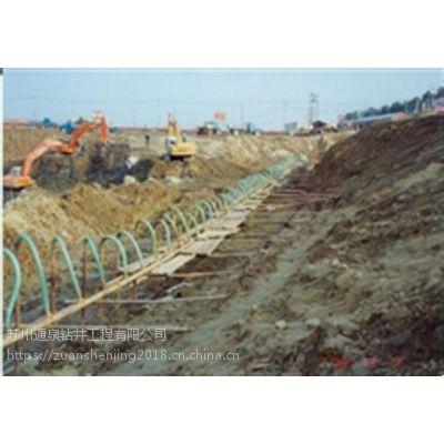 温州井点降水工艺流程展示,返循环机械降水施工