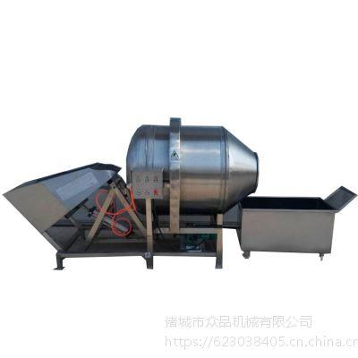 山东众品机械专供滚筒拌料机 专业生产不锈钢拌料机