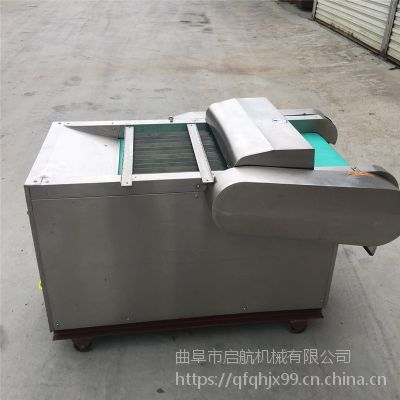 多功能竹笋切片机 不锈钢型豆角切段机 启航酸菜切丝机价格