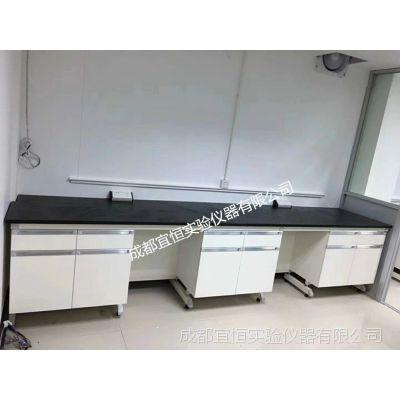 实验台钢木全钢化验台化学操作台工作台试验室边台桌通风柜药品橱