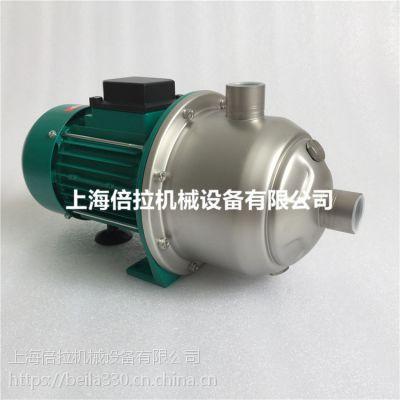 上海代理供应德国威乐不锈钢离心泵MHI803-1/10/E/1-220-50-2太阳能增压循环水泵