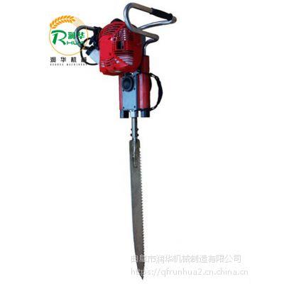 毛白杨树木挖树机 成活率可达100的起树机 常规挖树穴栽机