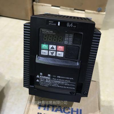 低价出无包装日立HITACHI 变频器0.4kw WJ200-004HFC-M