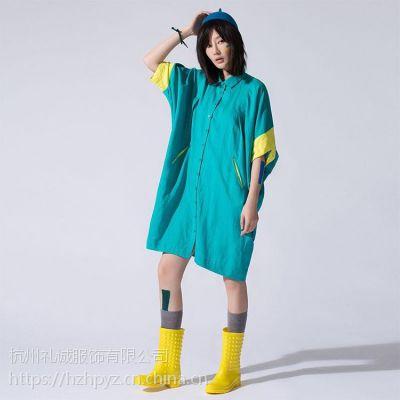 杭州品牌折扣女装货源 空序19夏装库存尾货批发
