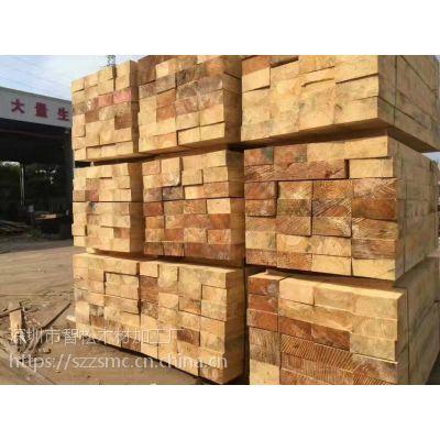 深圳龙岗区建筑木方 工地模板 进口方条厂家