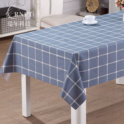 RNHS瑞年 厂家直销 PVC防水桌布塑料台布长方形茶几布餐桌布