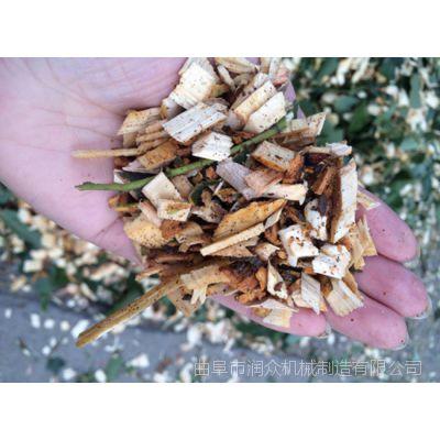 叉树枝破碎机 茶叶树残枝粉碎机 汽油大进料口树枝粉碎机 润众