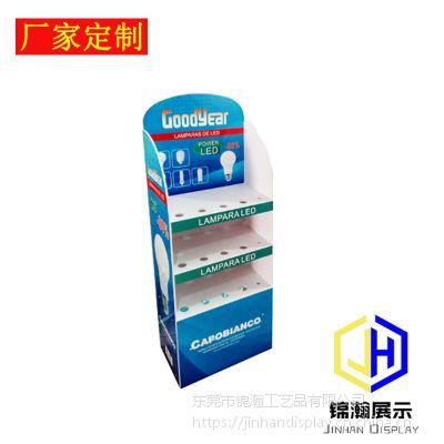 东莞工厂直销安迪板展示架雪佛板展架LED灯陈列架产品促销展柜货架货柜
