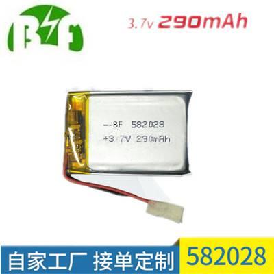 电芯蓝牙耳机电池充电锂电池582028 工厂可定制聚合物锂电池
