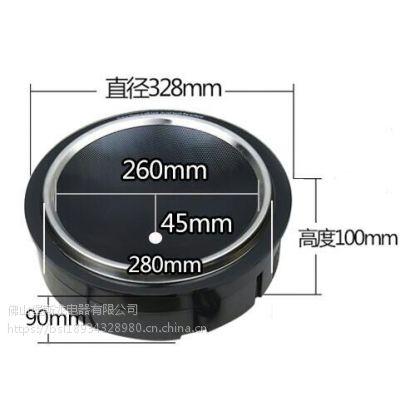 堡斯龙 商用火锅电磁炉 凹面圆形3000W的线控