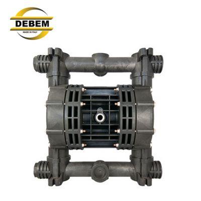 DEBEM气动隔膜泵 热镀锌行业专用隔膜泵 光伏泵 氢氟酸泵 化工泵 耐腐蚀泵