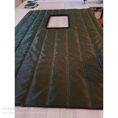 朗利洁加工各种颜色的挡风挡寒棉门帘