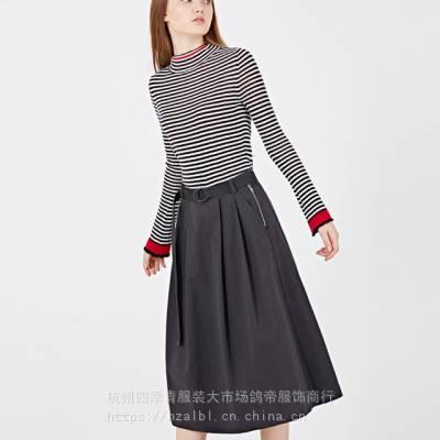 阿莱贝琳广州十三行麦中林19款春品牌折扣尾货大码女装女装免费铺货一手货源专柜正品