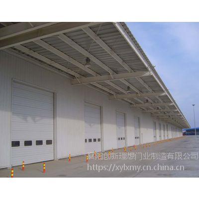 供应物流仓储卸货平台用提升门翻板工业门