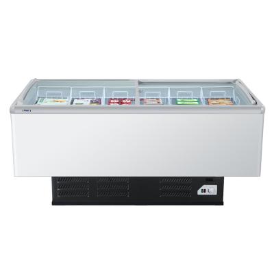Haier/海尔岛柜 SC/SD-828CXU9冷冻展示柜 海鲜岛柜 海尔冷冻柜
