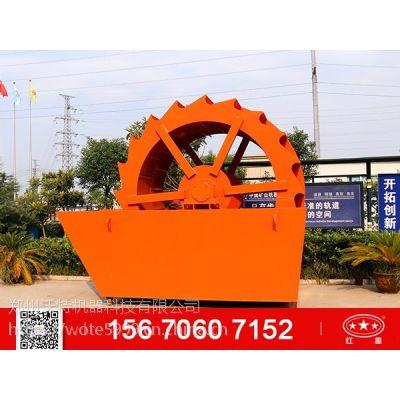 制砂生产线选择轮斗式洗砂机和螺旋洗砂机?