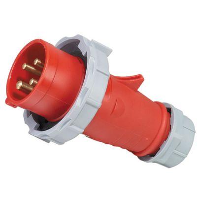 启星QX294 32A/4P欧标工业防水插头
