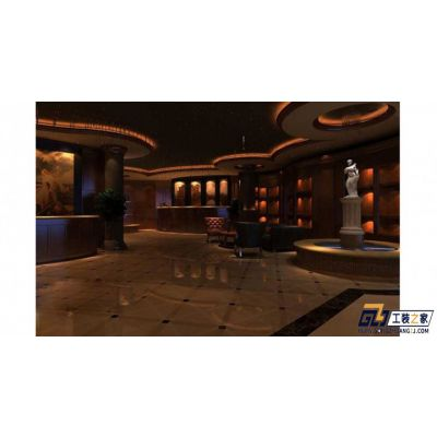 兰州饭店装修设计报价一平米多少费用