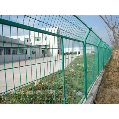 1.2米高绿色浸塑铁丝网围栏生产厂家