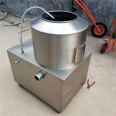 多功能土豆芋头去皮机 不锈钢土豆清洗机 商用自动薯仔脱皮机
