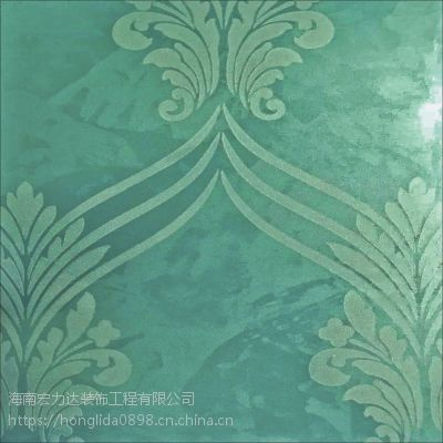 海南立体印花壁纸,液体墙面漆,宏利达