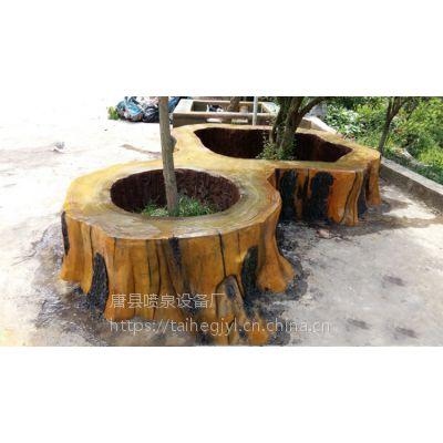 凌源市仿木栏杆 公园桌凳 水泥护栏仿真创新