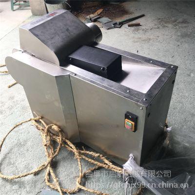 启航新款腐竹切段机 胡萝卜切丝机厂家 省力型鲜竹笋切片机