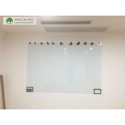 定制magwall绿板贴 擦写无痕无尘双层磁性教学绿板