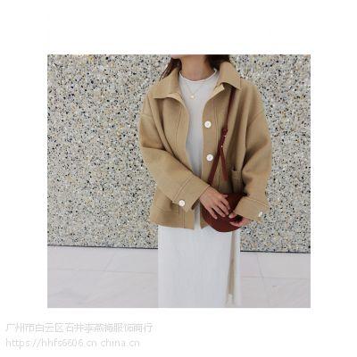 DNCY北京黑桥尾货外贸库房批发 品牌女装折扣店加盟哪个好尾货粉色衬衫