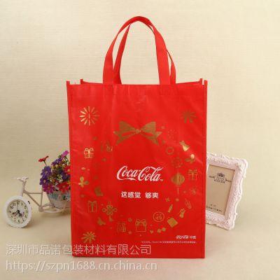 彩色无纺布圳品诺包装生产环保袋 无坊布袋 购物袋生产厂家 广告袋 礼品袋 30*40*10 样品实拍