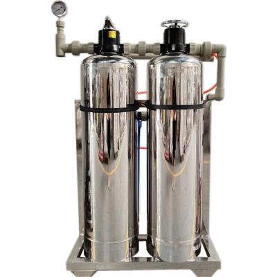 农村井水除铁锰过滤器 不锈钢锰砂多介质澄清水质过滤器 脉德净