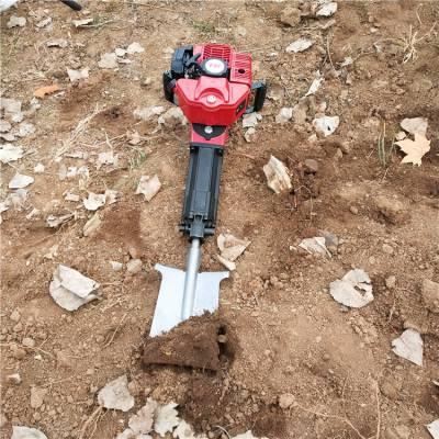 小型轻便链条挖树机 汽油断根起树机 大功率起球移苗机