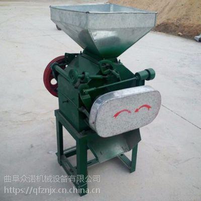 顺昌县 新型家用大豆挤扁机 打粉磨面机 养生杂粮磨面机