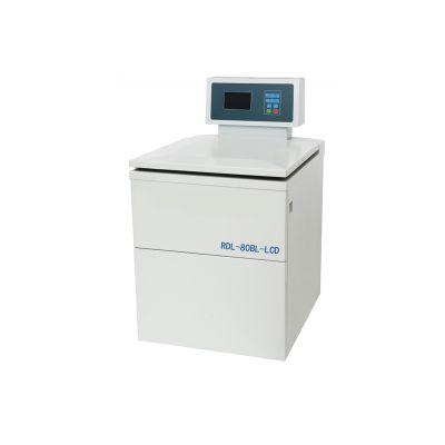 杭州艾普RDL-80BL (LCD显示)超大容量冷冻离心机大屏幕触摸屏转子识别8000r/min