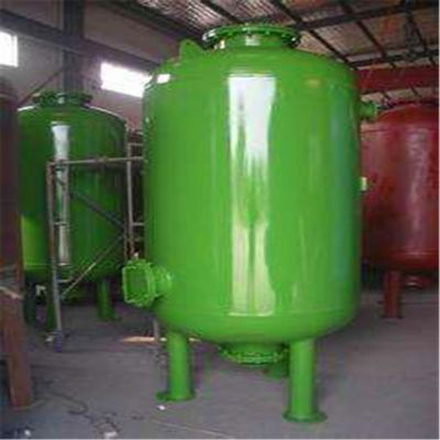 甘肃陇南碳钢防腐罐/水处理设备/原水过滤器