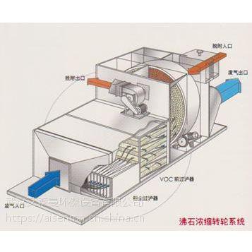 vocs沸石浓缩转轮 工业废气处理设备