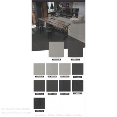 PINLI品立陶瓷微粉砖仿古砖抛光砖斑点通体砖木纹砖地砖瓷质地板砖生产工厂。