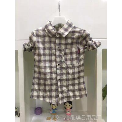 2017春款男童潮流衬衫/韩版纯棉儿童衬衣上衣/做工精致 品质一流
