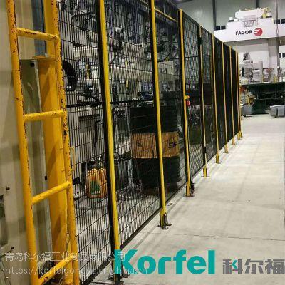 河南供应车间仓库隔离网机器人防护网2米高低碳钢丝网