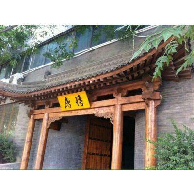 重庆万州实木牌匾、防腐木仿古中式门头、景区导示、宣传栏、广告标识定制厂家