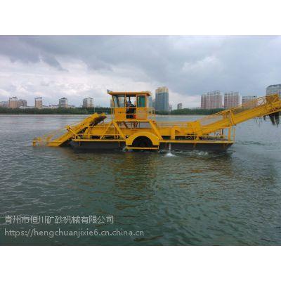 水库水浮莲清除 广西小型割草船供应厂家