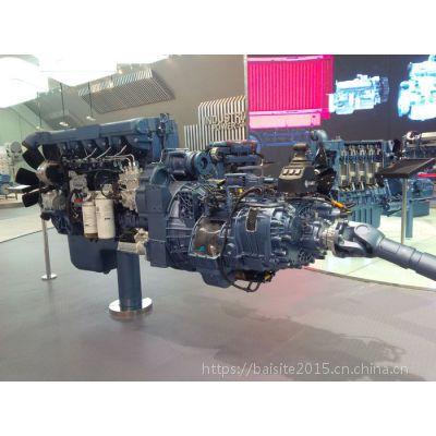 潍柴WP10NG300E30天然气发动机 车用221kW国三LNG机器